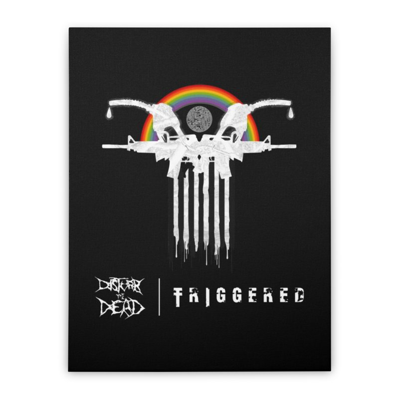 Triggered Home Stretched Canvas by disturbthedead's Artist Shop