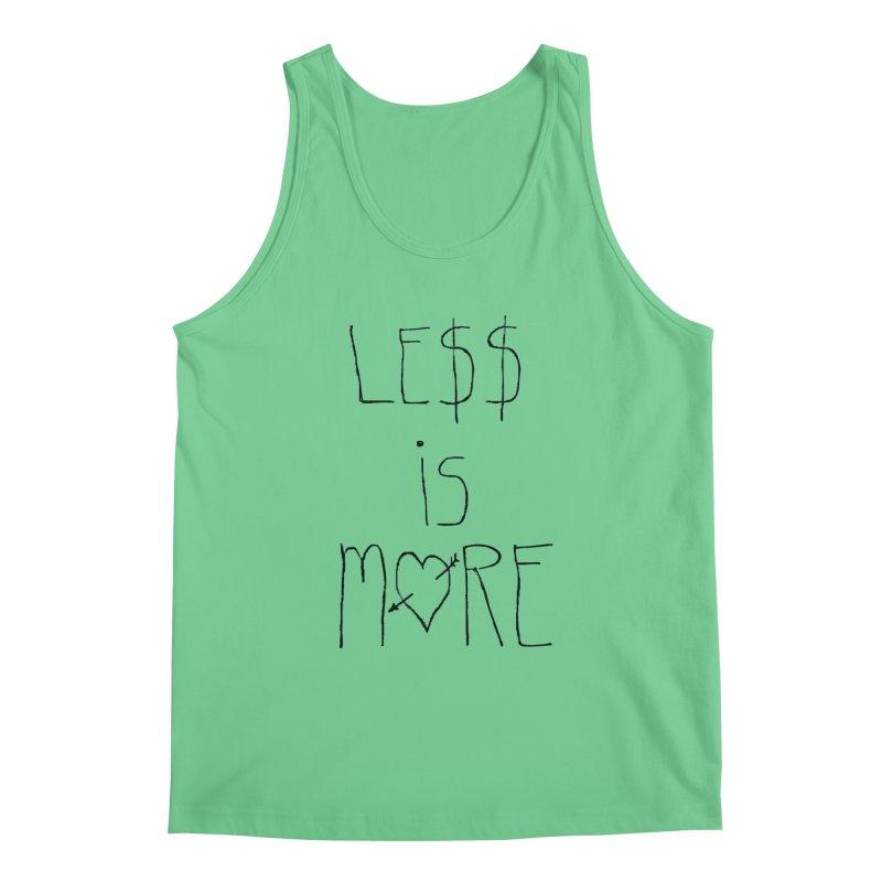 Le$$ is More Men's Tank by divinedesign's Artist Shop