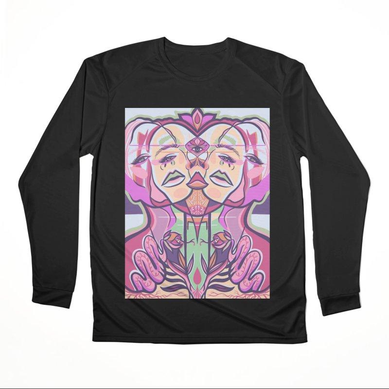 BREAKTHROUGH Men's Longsleeve T-Shirt by DIVINE FEM
