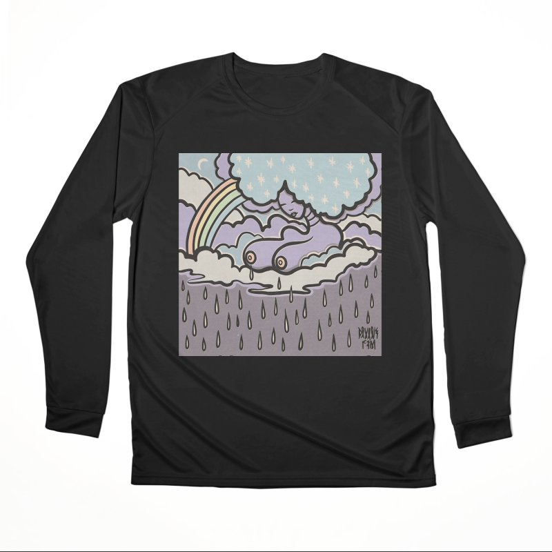 Makin' it RAIN! Men's Longsleeve T-Shirt by DIVINE FEM