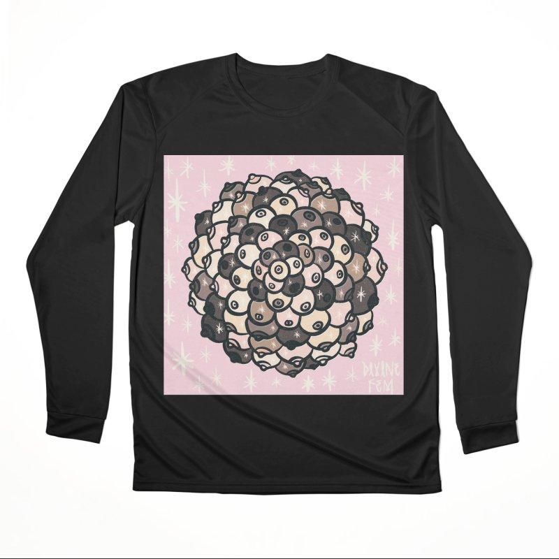 Boob Mandala Men's Longsleeve T-Shirt by DIVINE FEM