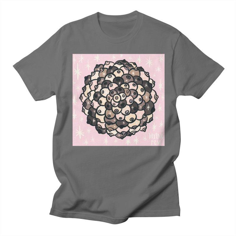 Boob Mandala Men's T-Shirt by DIVINE FEM