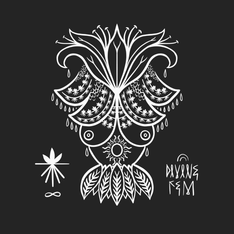 Goddess Mama Men's T-Shirt by DIVINE FEM