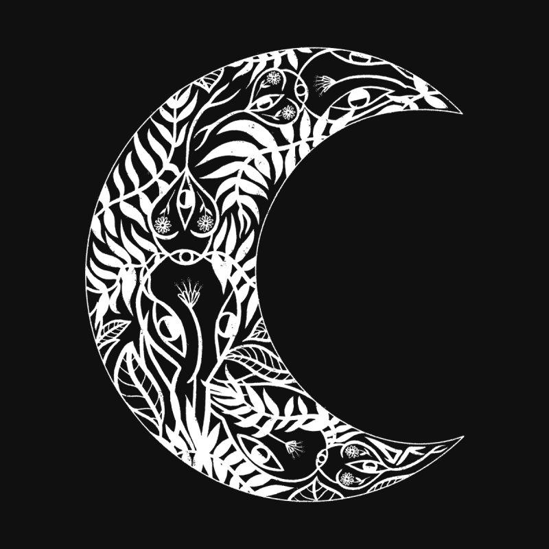 Wild Moon Men's Longsleeve T-Shirt by DIVINE FEM