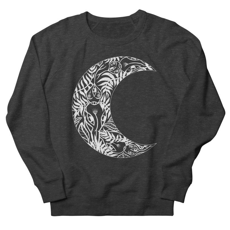 Wild Moon Women's Sweatshirt by DIVINE FEM