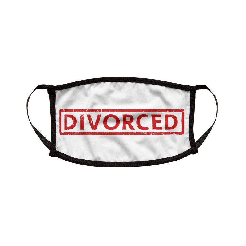 DIVORCED Accessories Face Mask by