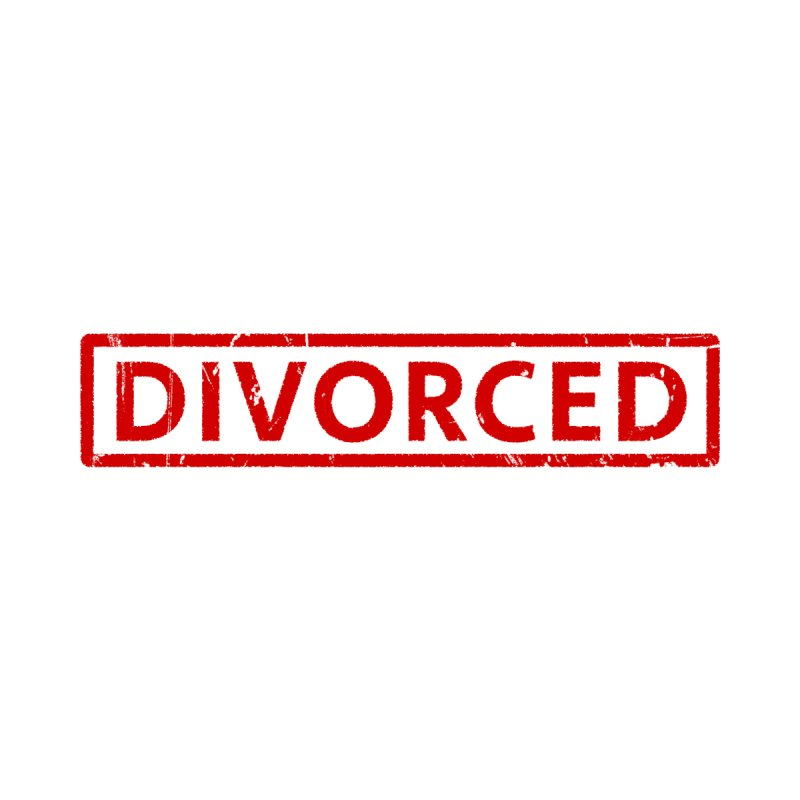 DIVORCED Men's T-Shirt by