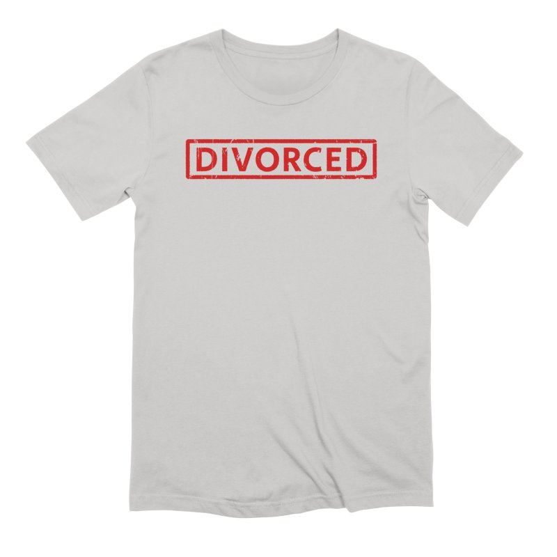 DIVORCED Men's T-Shirt by