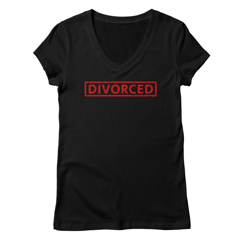 DIVORCED Women's V-Neck by