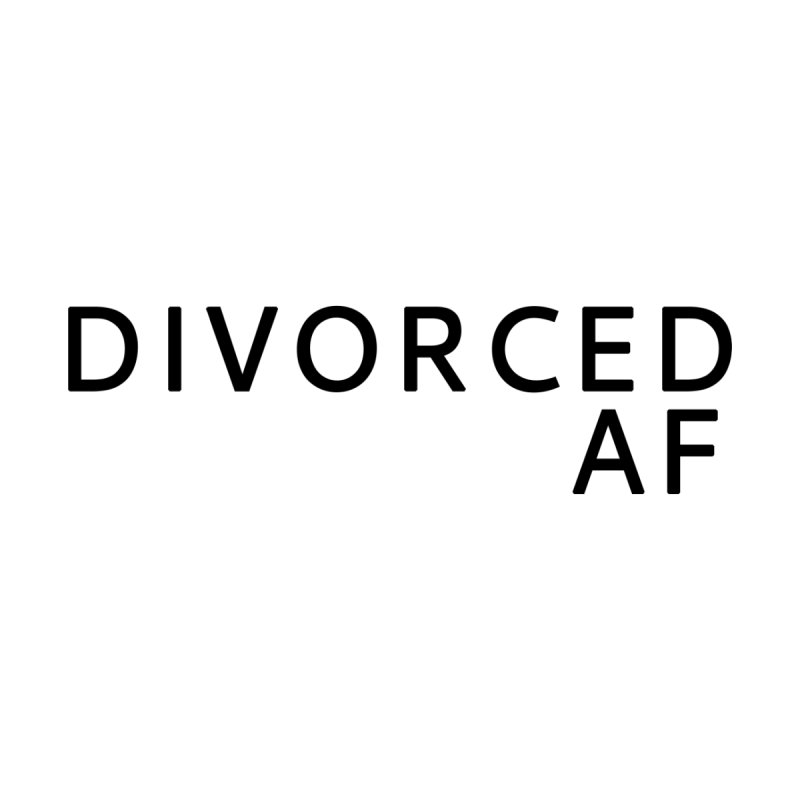 Divorced AF - Black Logo Women's Tank by