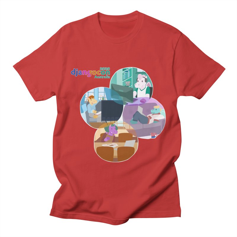 DjangoCon Australia 2020 Men's T-Shirt by Django Software Foundation Store