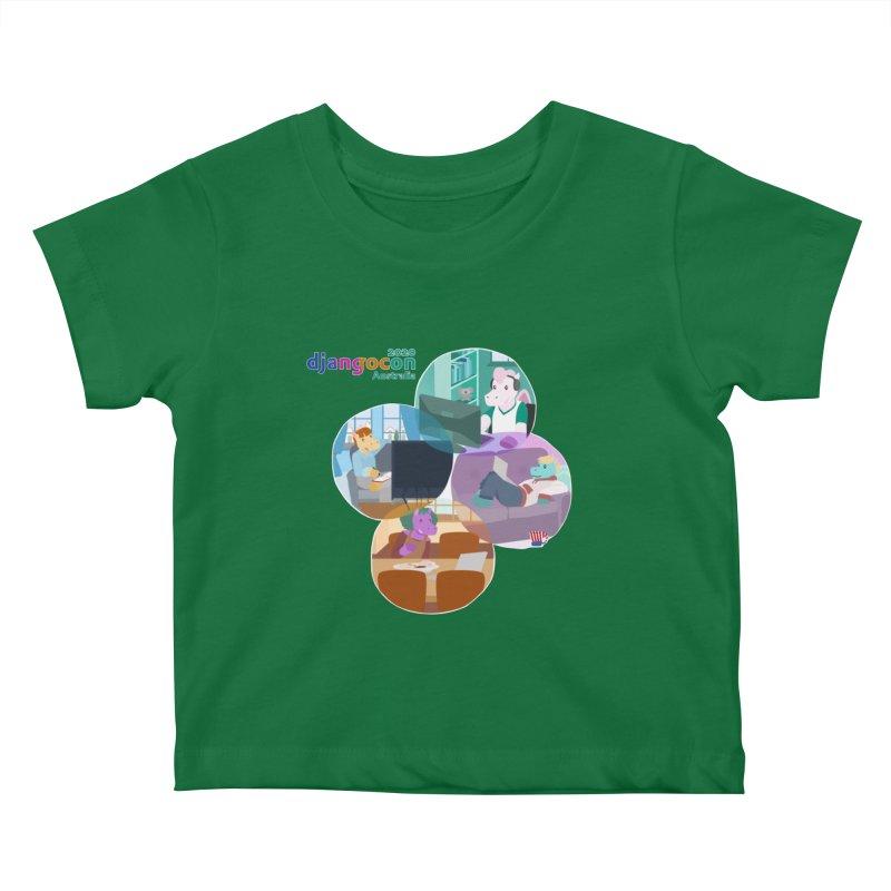 DjangoCon Australia 2020 Kids Baby T-Shirt by Django Software Foundation Store
