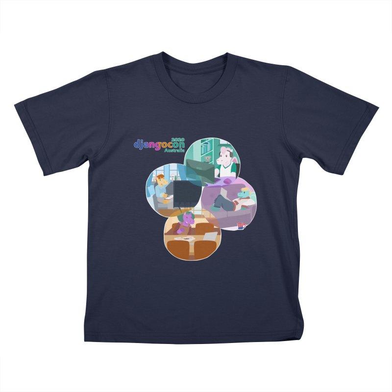 DjangoCon Australia 2020 Kids T-Shirt by Django Software Foundation Store