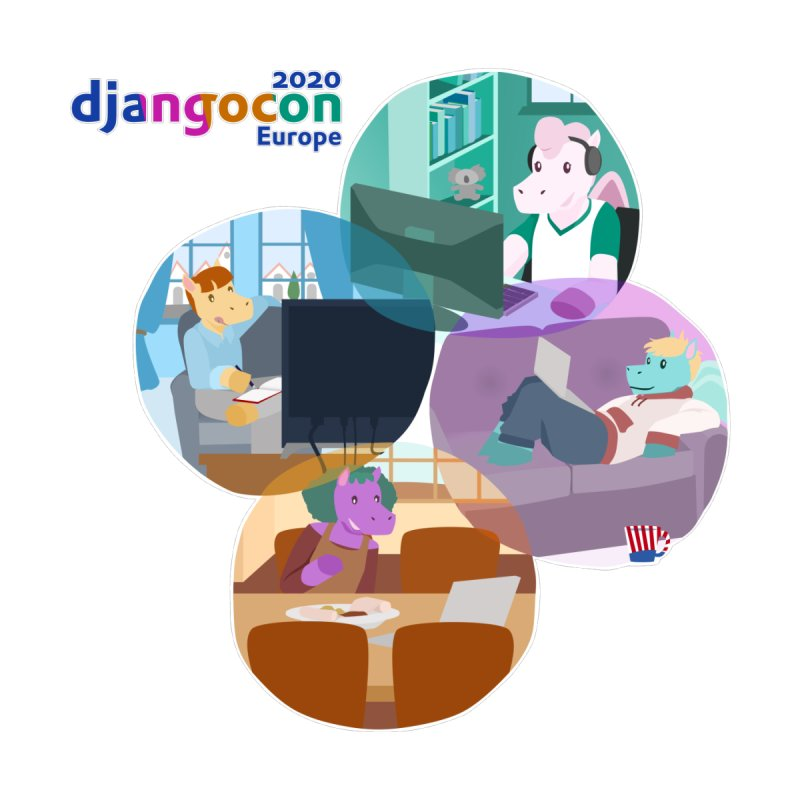 DjangoCon Europe 2020 Women's T-Shirt by Django Software Foundation Store