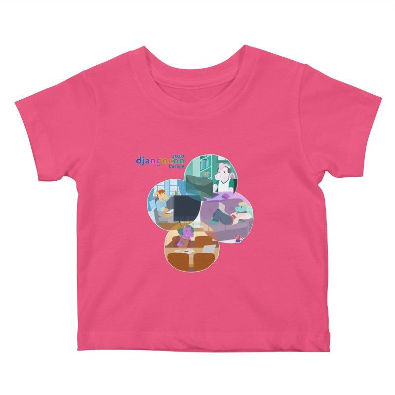 DjangoCon Europe 2020 Kids Baby T-Shirt by Django Software Foundation Store