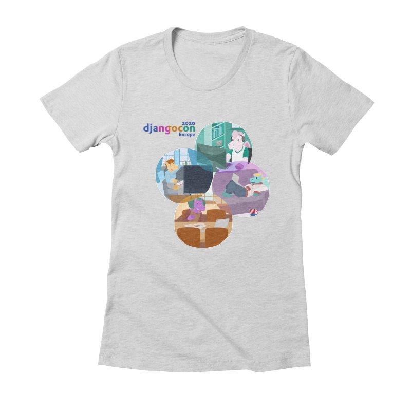 DjangoCon Europe 2020 Women's T-Shirt by Django Software Foundation Store