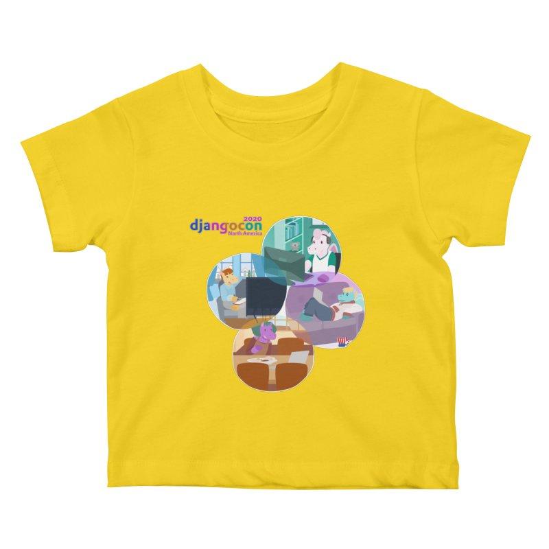 DjangoCon North America 2020 Kids Baby T-Shirt by Django Software Foundation Store