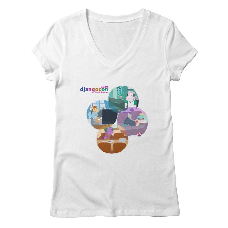 DjangoCon North America 2020 Women's V-Neck by Django Software Foundation Store