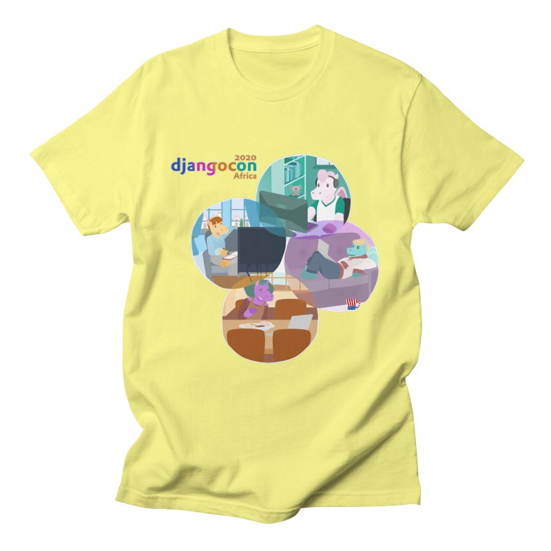 DjangoCon Africa 2020 Men's T-Shirt by Django Software Foundation Store