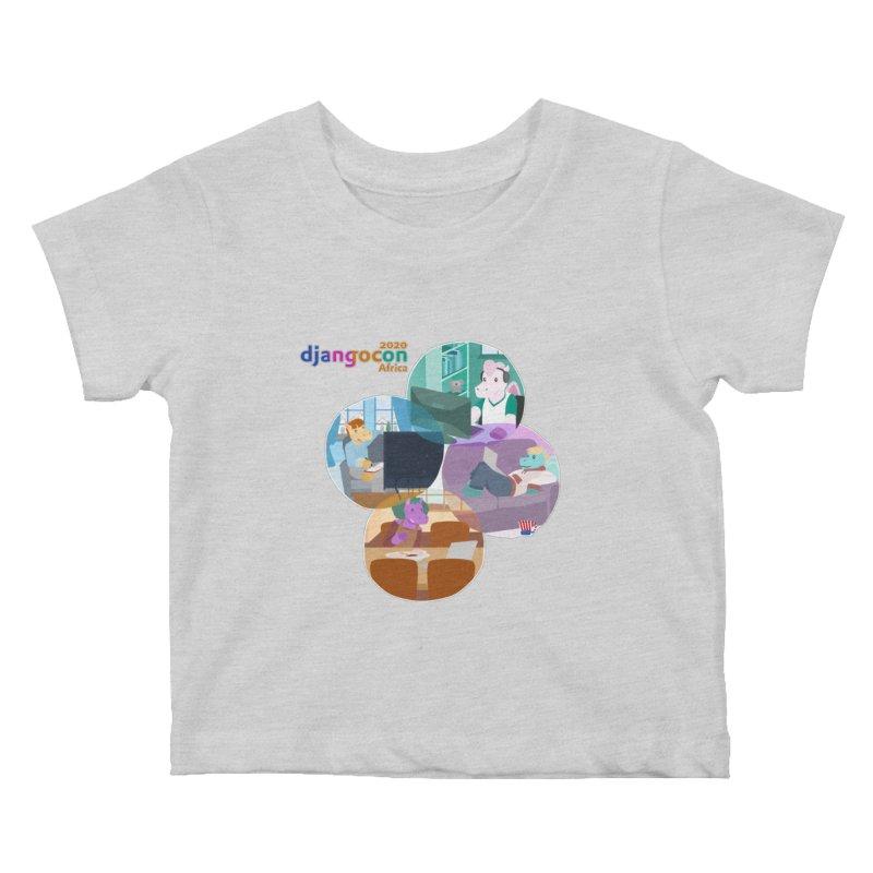 DjangoCon Africa 2020 Kids Baby T-Shirt by Django Software Foundation Store