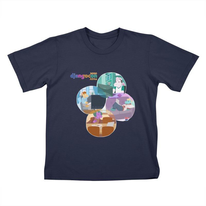 DjangoCon Africa 2020 Kids T-Shirt by Django Software Foundation Store
