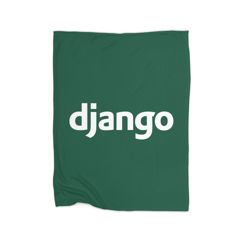 Django Home Blanket by Django Software Foundation Store