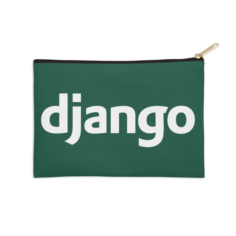 Django Accessories Zip Pouch by Django Software Foundation Store