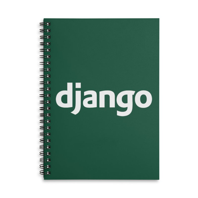 Django Accessories Notebook by Django Software Foundation Store