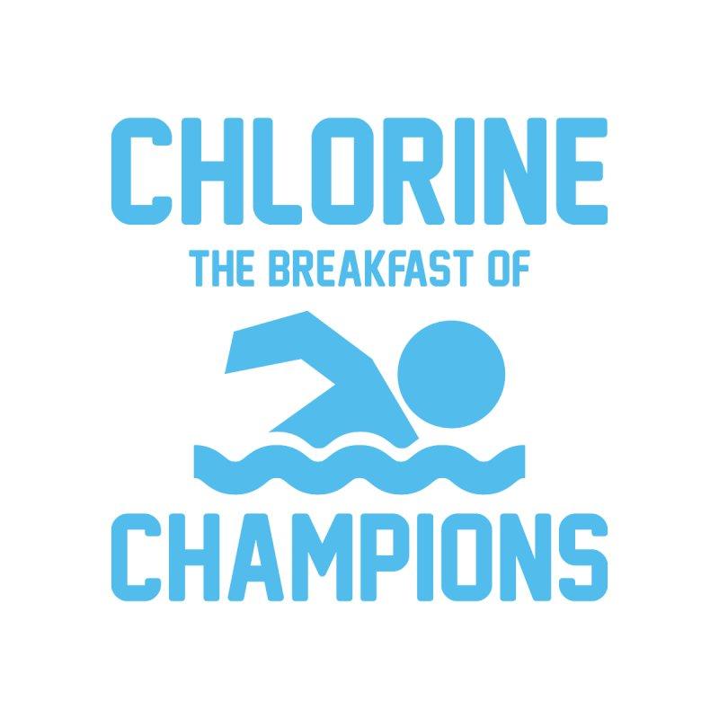 Chlorine for Breakfast Accessories Beach Towel by DJB Design