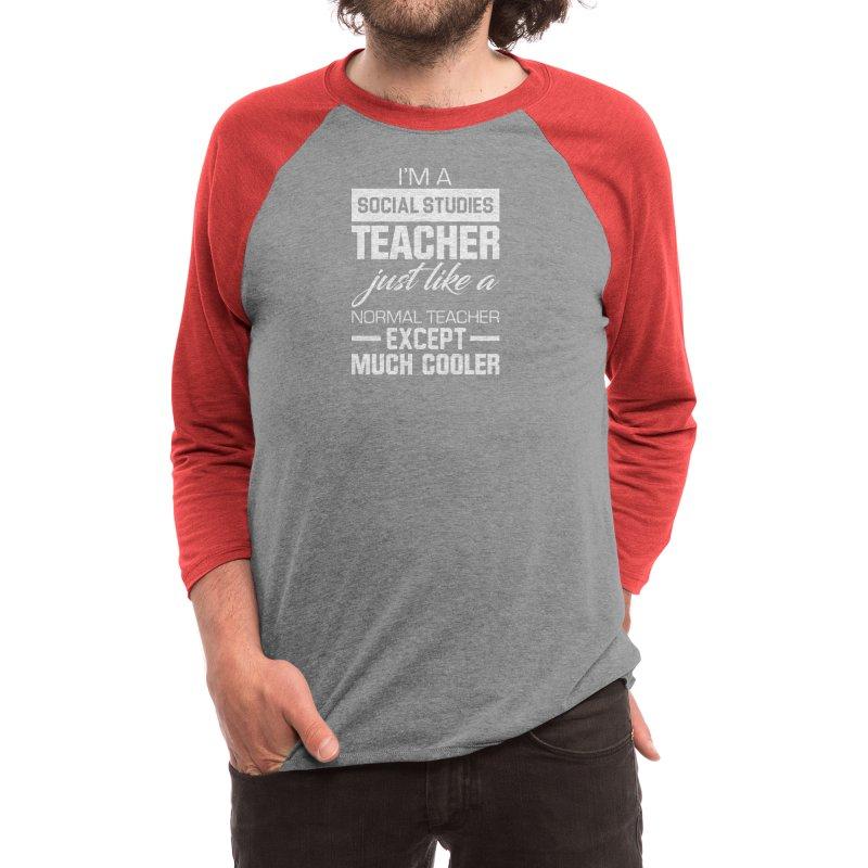 Djbdesign Social Studies Teacher Mens Longsleeve T Shirt