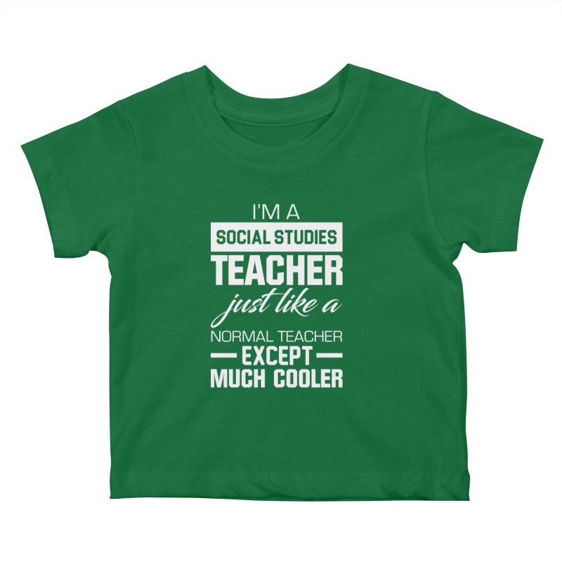 Social Studies Teacher Kids Baby T Shirt Djb Design