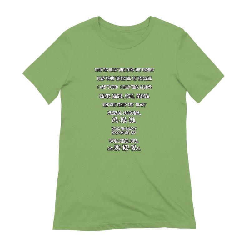 LIMITED EDITION!  Djembe Djingle! Women's Extra Soft T-Shirt by DJEMBEFOLEY Shop