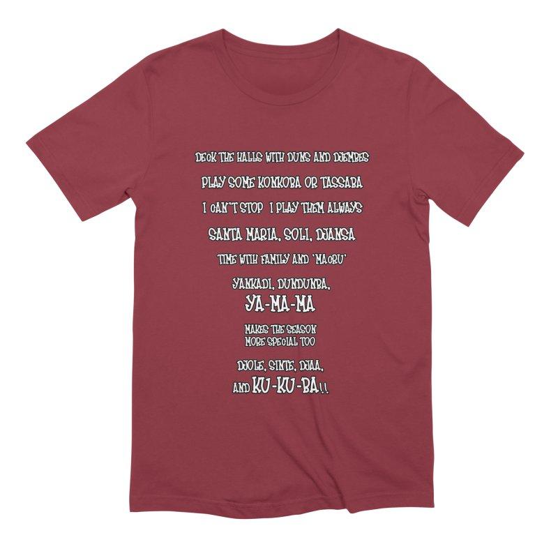 LIMITED EDITION!  Djembe Djingle! Men's Extra Soft T-Shirt by DJEMBEFOLEY Shop