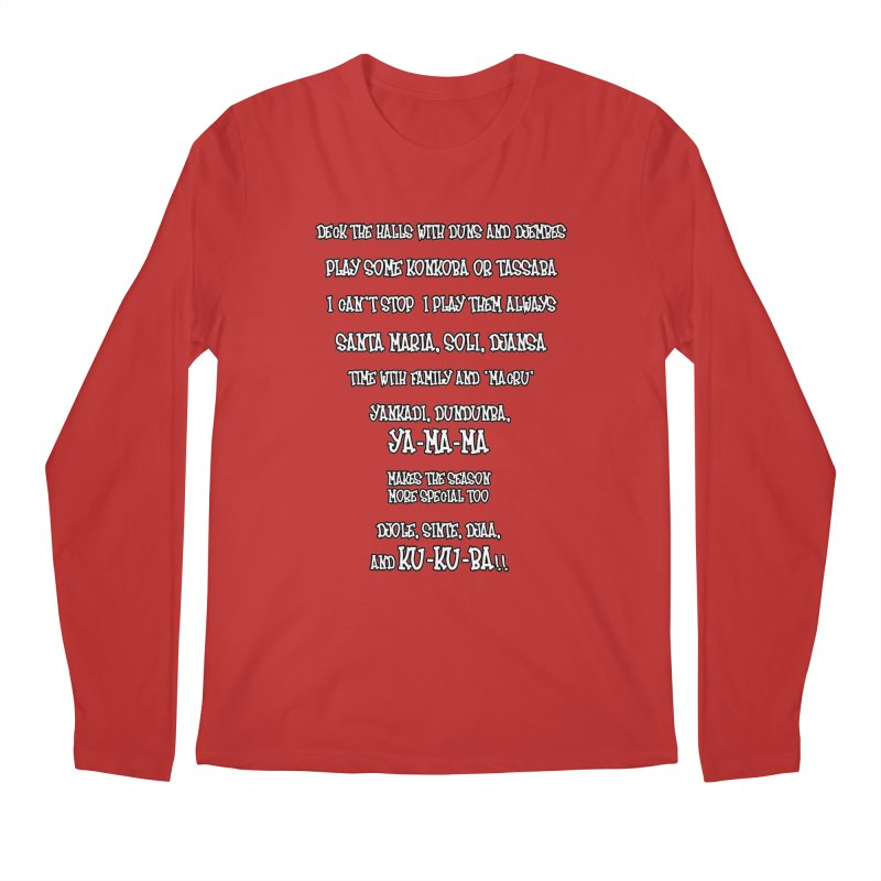 LIMITED EDITION!  Djembe Djingle! Men's Regular Longsleeve T-Shirt by DJEMBEFOLEY Shop