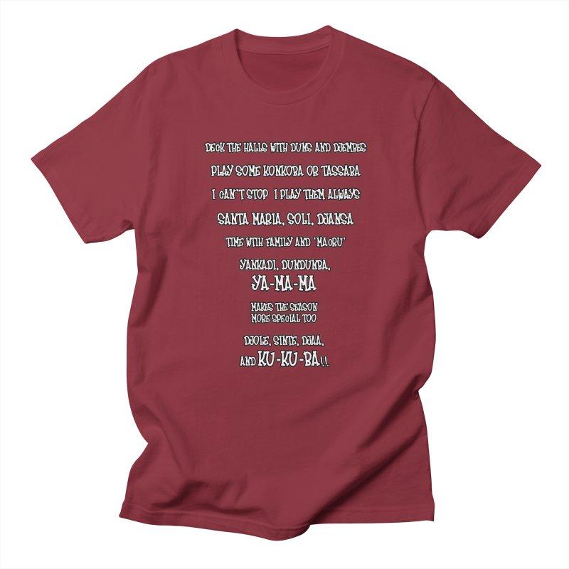LIMITED EDITION!  Djembe Djingle! Men's Regular T-Shirt by DJEMBEFOLEY Shop