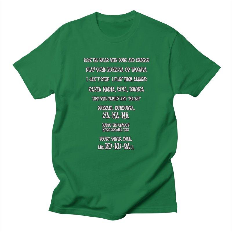 LIMITED EDITION!  Djembe Djingle! Women's Regular Unisex T-Shirt by DJEMBEFOLEY Shop