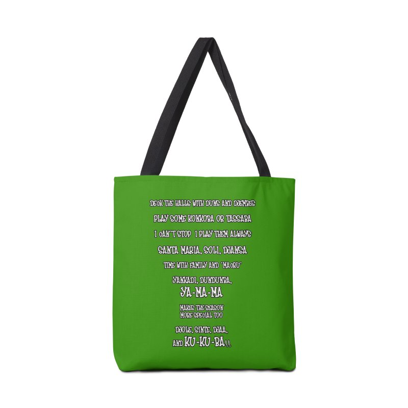 LIMITED EDITION!  Djembe Djingle! Accessories Tote Bag Bag by DJEMBEFOLEY Shop