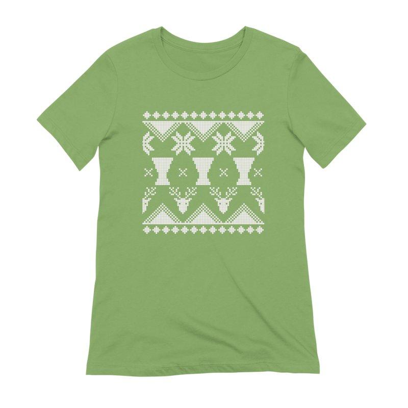 LIMITED EDITION!  Winter Djembeland! Women's Extra Soft T-Shirt by DJEMBEFOLEY Shop