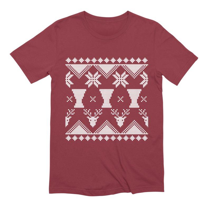 LIMITED EDITION!  Winter Djembeland! Men's Extra Soft T-Shirt by DJEMBEFOLEY Shop