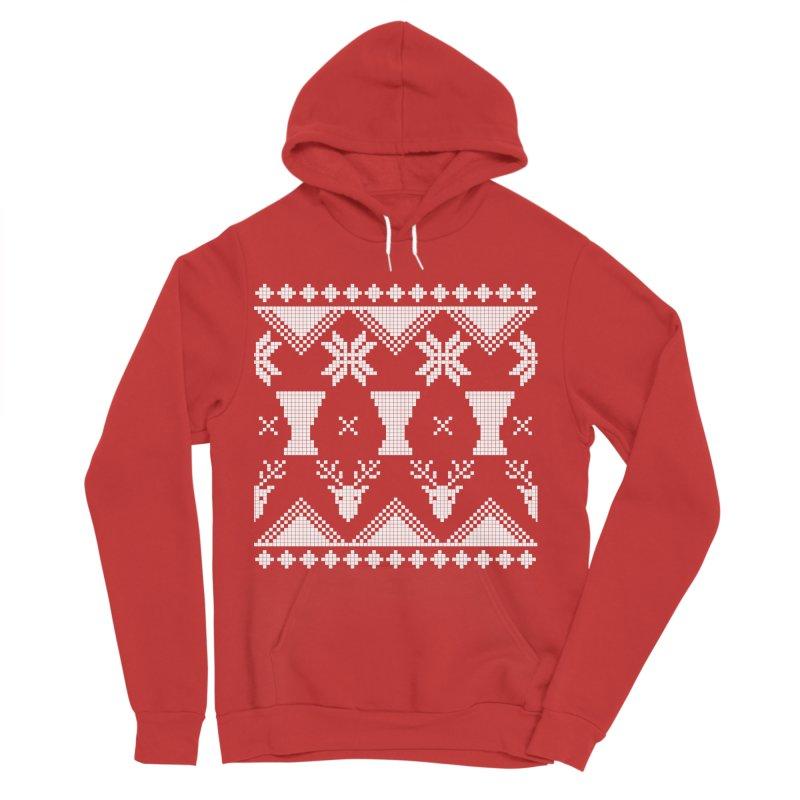 LIMITED EDITION!  Winter Djembeland! Women's Sponge Fleece Pullover Hoody by DJEMBEFOLEY Shop
