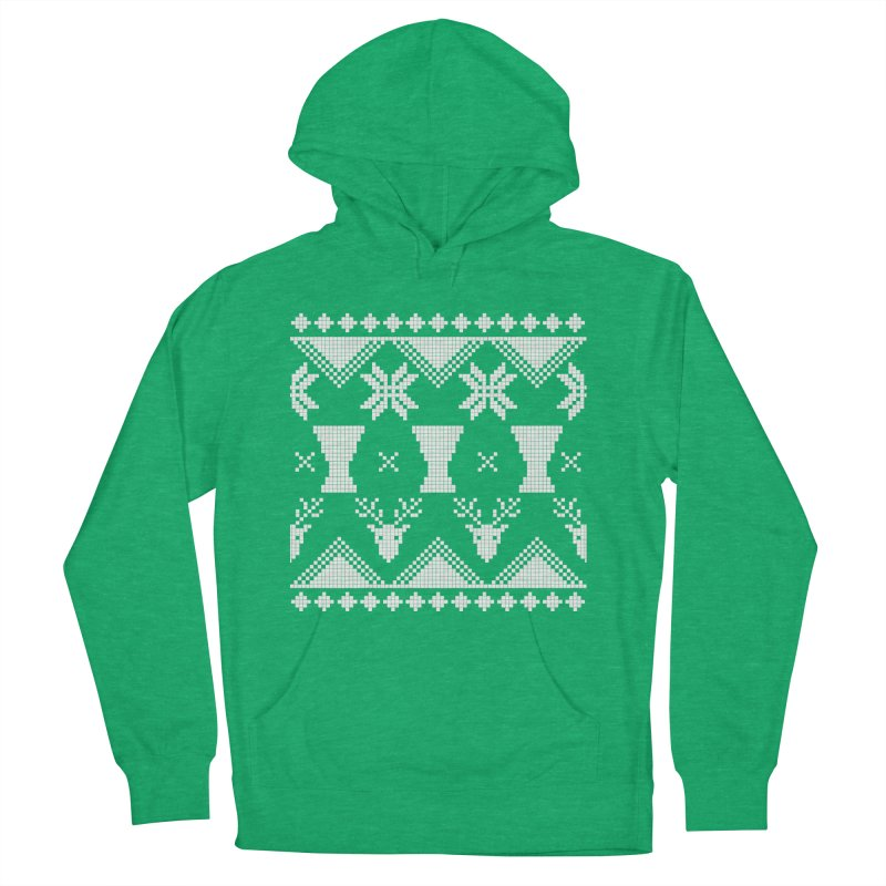 LIMITED EDITION!  Winter Djembeland! Men's French Terry Pullover Hoody by DJEMBEFOLEY Shop
