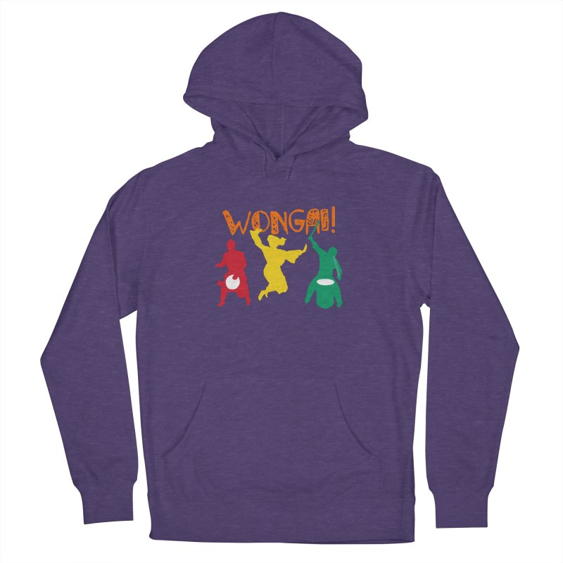 Wongai! Men's French Terry Pullover Hoody by DJEMBEFOLEY Shop