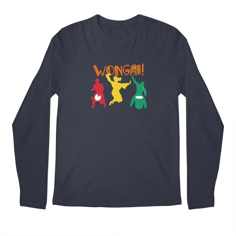 Wongai! Men's Regular Longsleeve T-Shirt by DJEMBEFOLEY Shop