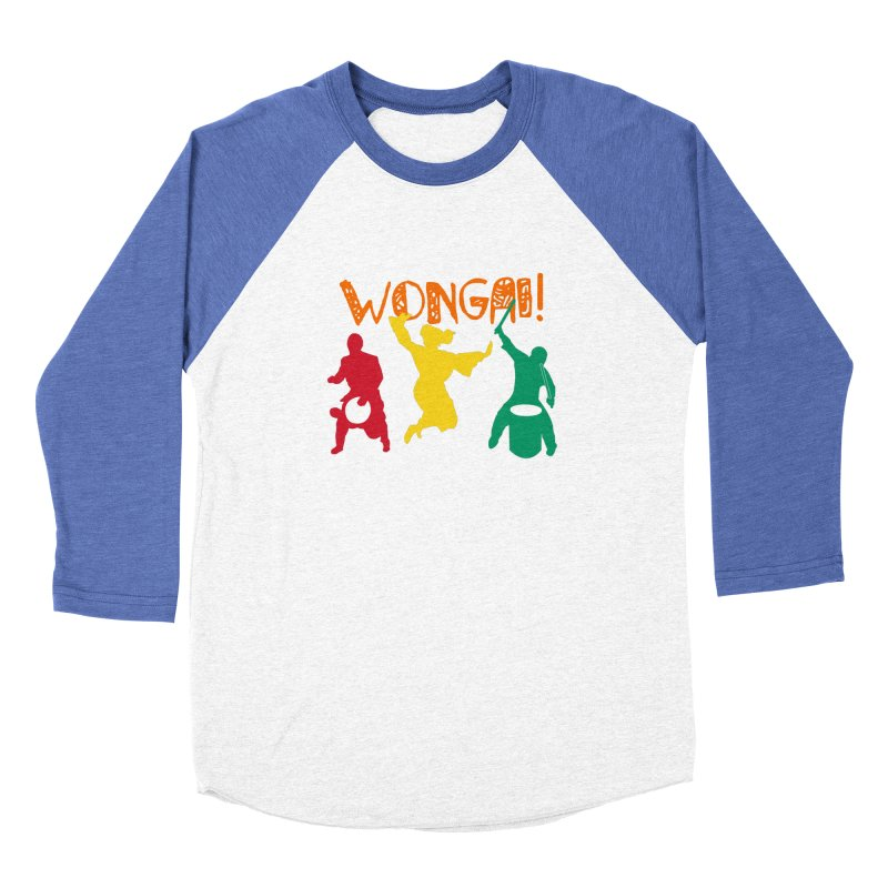 Wongai! Women's Baseball Triblend Longsleeve T-Shirt by DJEMBEFOLEY Shop