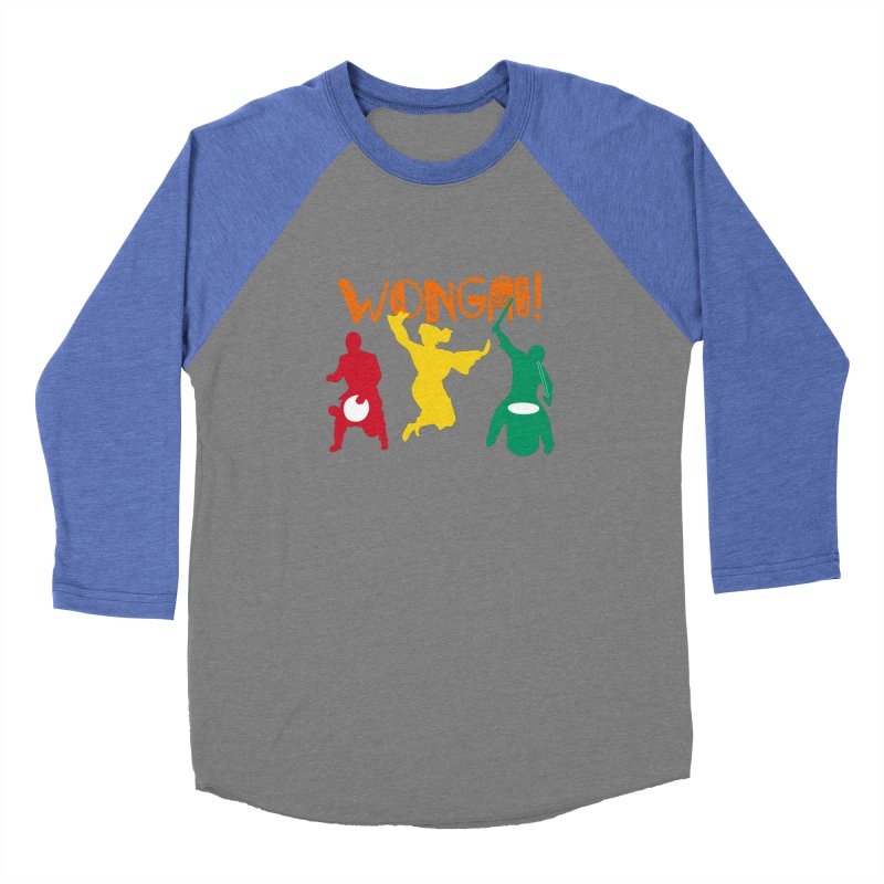 Wongai! Women's Baseball Triblend Longsleeve T-Shirt by DJEMBEFOLEY Shop