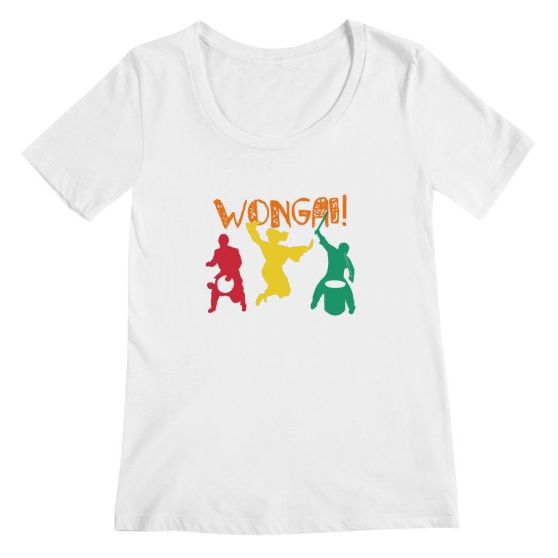 Wongai! Women's Regular Scoop Neck by DJEMBEFOLEY Shop