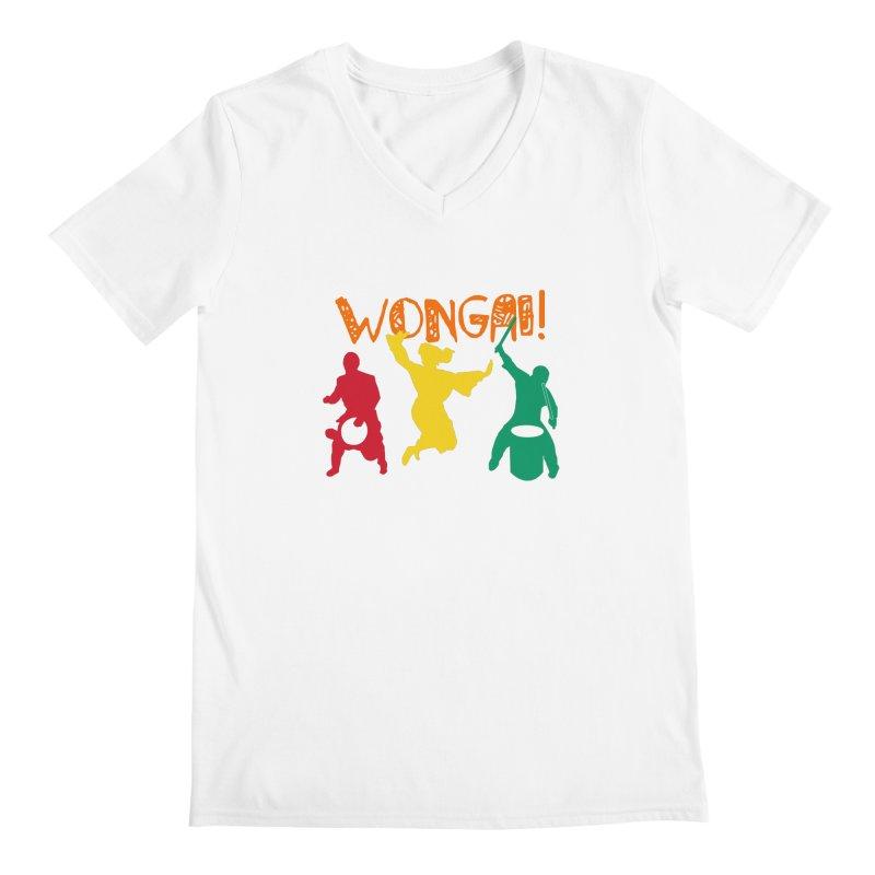 Wongai! Men's Regular V-Neck by DJEMBEFOLEY Shop
