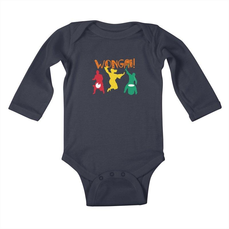 Wongai! Kids Baby Longsleeve Bodysuit by DJEMBEFOLEY Shop