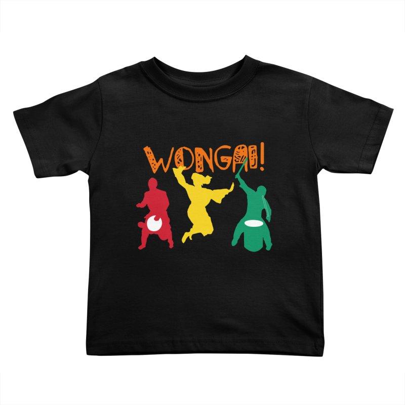 Wongai! Kids Toddler T-Shirt by DJEMBEFOLEY Shop