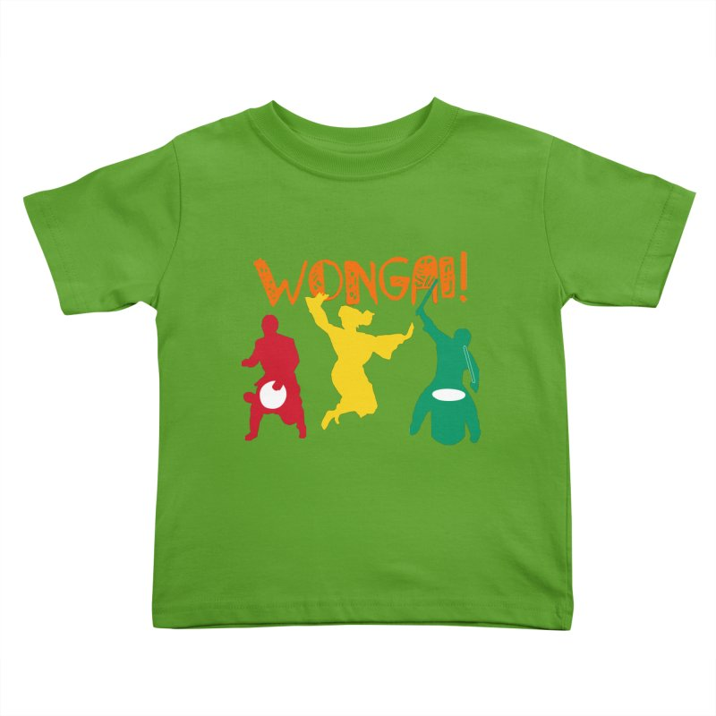 Wongai! Kids Toddler T-Shirt by DJEMBEFOLEY Shop